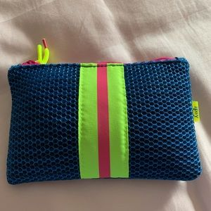 ipsy cosmetic bag with goodies